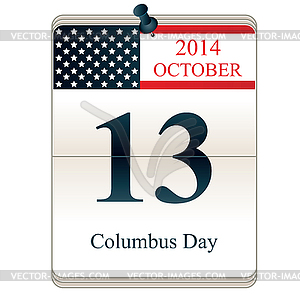 Christopher Columbus Day - Vector-Clipart / Vektor-Bild