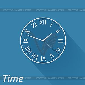 Flache Symbole - Stock Vektorgrafik