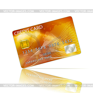 Credit Card Icon - Vector-Clipart / Vektor-Bild