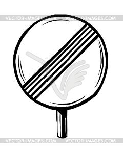 Ende der Prohibition - Vector-Clipart EPS