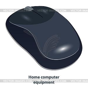 Drahtlose Computer-Maus - farbige Vektorgrafik