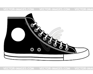 Sneaker - vektorisiertes Clipart