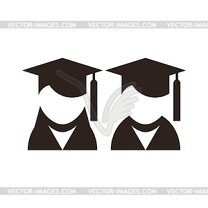 Universität Avatar. Bildung-Ikonen - Vektor-Clipart / Vektor-Bild