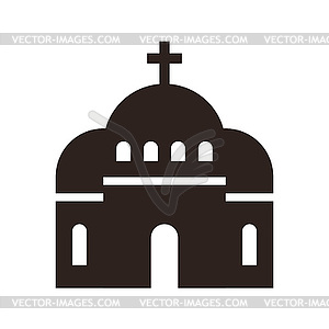 Church Icon - Vector-Bild