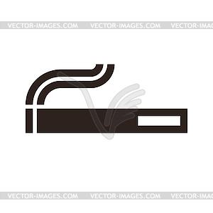 Zigaretten-Zeichen - Vector-Clipart / Vektor-Bild