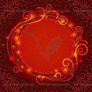 Abstract red mystischen Spitzen Hintergrund mit Drall - Vektorgrafik