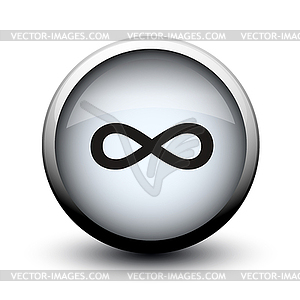 Infinity-Taste 2d - Royalty-Free Vektor-Clipart