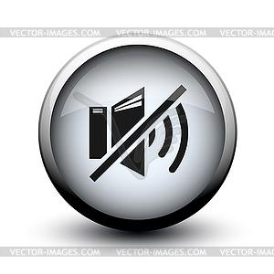 Taste Ton aus 2d - Vector-Illustration