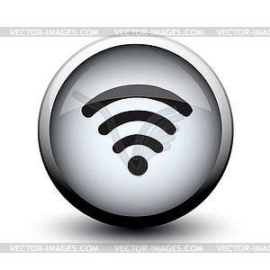 Taste Antennenwellen 2d - Vector-Bild
