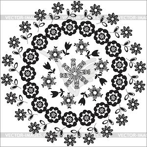 Kreismuster für verschiedene Zwecke - Vector-Clipart / Vektor-Bild