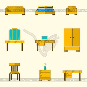 Icon für Möbel - Vector-Clipart / Vektor-Bild