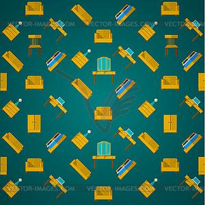 Hintergrund für Möbel - Vektor-Clipart EPS