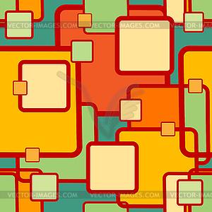 Abstrakte geometrische nahtlose Muster - Vektor-Clipart / Vektor-Bild