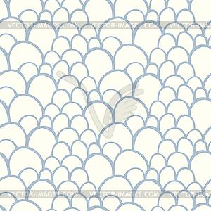 Nahtlose Muster mit abstrakten stilisierte Waage - Vector-Clipart / Vektor-Bild
