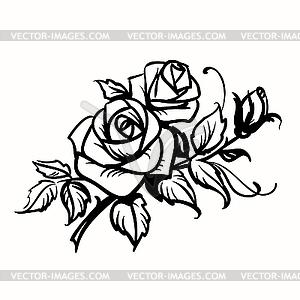 розы картинки рисунки