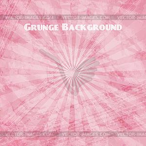 Rosa Grunge-Hintergrund - Stock Vektor-Clipart