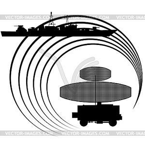 Radar - Vektorgrafik