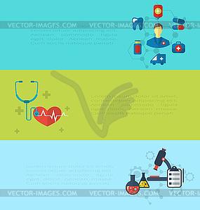 Konzept der medizinischen Diagnostik Krankenhaus Klinik Pflege - Vektor-Clipart / Vektor-Bild