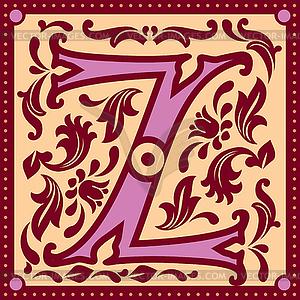 Vintage-Z - Clipart-Design