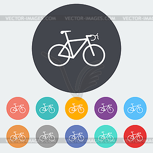 Bicycle icon - Vector-Clipart / Vektor-Bild