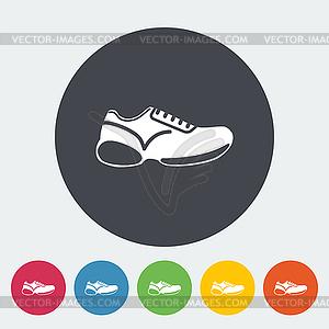 Shoes icon - vektorisierte Grafik