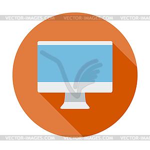 Monitor-Symbol - Vektor-Clipart / Vektor-Bild