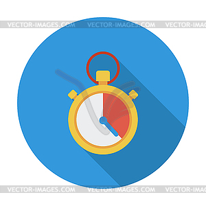 Stoppuhrsymbol - Stock Vektorgrafik