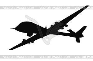 Waffe. Drones - Vector-Clipart / Vektor-Bild