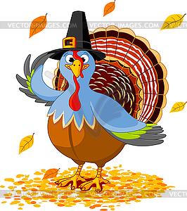 Thanksgiving-Truthahn - Vektor-Clipart EPS