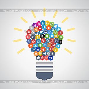 Bulb Wissenschaft - Vector-Clipart / Vektor-Bild