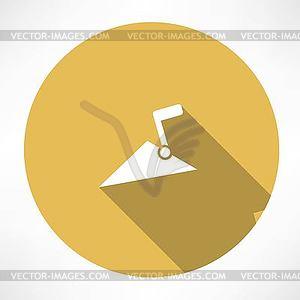 Trowel icon - Vektorgrafik