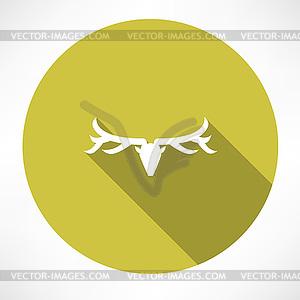 Deer Icon - Vektorabbildung