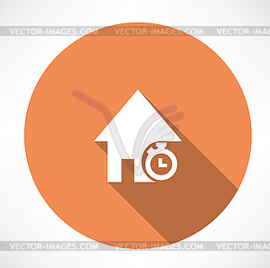 Dauer von Wohnungsbaudarlehen - Vektor-Clipart / Vektor-Bild