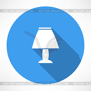 Nachtlampe Symbol - Vector-Bild