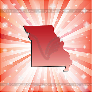 Red Missouri - Vektor-Klipart