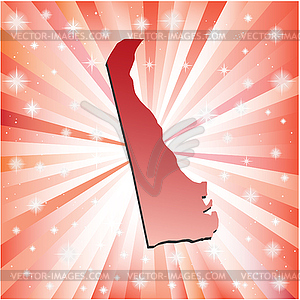 Red Delaware - Stock-Clipart