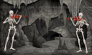 Concert Höhle - Vektor-Clipart