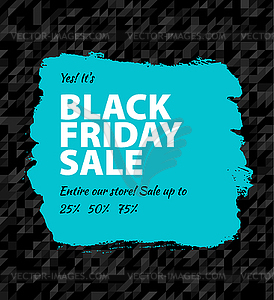 Black friday großen Verkauf - Stock Vektor-Bild