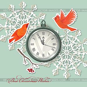 Scrapbook-Element Hintergrund Weihnachten - Vektor-Clipart / Vektor-Bild