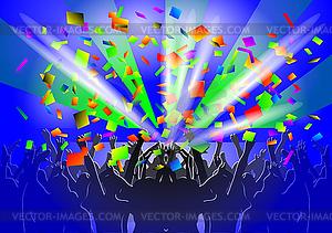 Menschenmenge - Vector-Clipart / Vektor-Bild