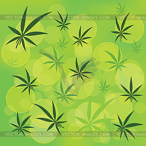 Cannabis - Vector-Illustration