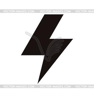 Blitzsymbol - Vector-Clipart EPS