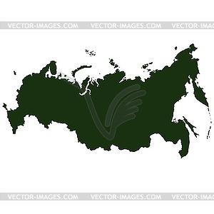 Russland Piktogramm - Clipart