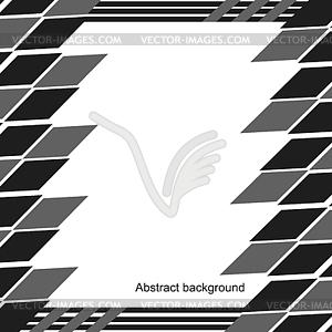 Einfache abstrakte Schwarz-Weiß-Muster, - Vektor-Clipart / Vektorgrafik