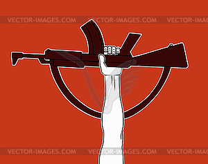 Bewaffnete Revolution - Royalty-Free Clipart