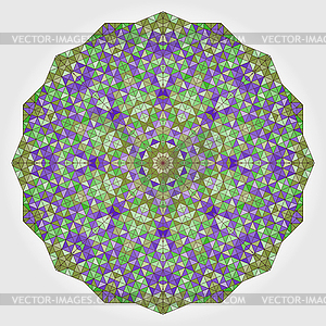 Abstrakt bunten Kreis Hintergrund. Geometrisch - Stock Vektor-Clipart