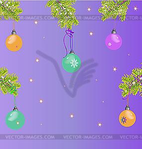 Weihnachtskarte - Vektor-Clipart / Vektor-Bild