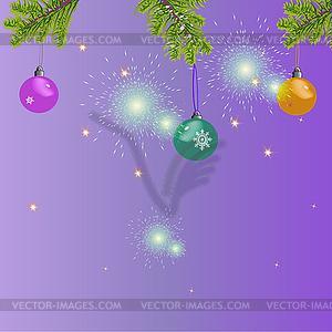 Weihnachtskarte - Vector-Design