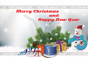 Neujahr Ornament - Royalty-Free Vektor-Clipart