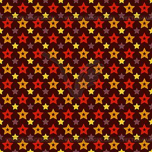 Urlaub Triumph Sternform nahtlose Muster (Fliesen) - Vector-Clipart EPS